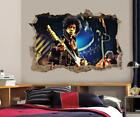 Jimi Hendrix Smashed Wall Sticker Decal Home Decor Art Mural Music J367