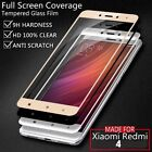 2.5D Full Cover Color Tempered Glass Screen Protector For Xiaomi Redmi 4.