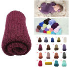 2017 Newborn Baby Stretch Textured Knit Rayon Wrap Cocoon Photo Photography Prop
