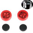 1 PAIR CAR LED DOOR SAFETY WARNING ANTI-COLLISION LIGHTS WIRELESS ALARM LAMP
