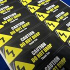 Caution Do Not Drop Thank You - Y - Packing Shipping Handling Label Stickers
