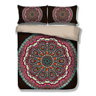 Indina Paisley Mandala Duvet Cover Pillow Cases Quilt Cover Bedding Set All Size