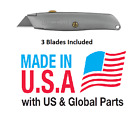 NEW Choose STANLEY Retractable Utility Knife + Blades or Replacement Blades Only