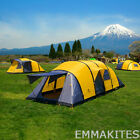 SUPER Large 3-10 Person Sleeping Tent 4+1 Room Inflatable Waterproof Camping