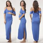 Pregnant Women Summer Long Maxi Maternity Dress Casual Party Beach Dress Clothes