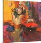 Canvas On Demand Clarice Cliff Rose Table by Peter Graham Graphic Art on Canvas