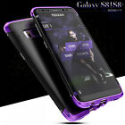 For Samsung Galaxy S9/S8+ Shockproof Hybrid Armor Metal Aluminum Back Case Cover