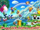 EDIBLE Super Mario Bros Odyssey Cake Topper Birthday Wafer Paper Sheet (8x10.5