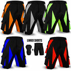 FITNOW Cycling MTB Shorts Off Road Cycle Bicyle Coolmax Padded Liner Short