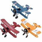 Внешний вид - mini Retro Plane Airplane Aircraft Model Home Decoration Ornament Toy room Decor