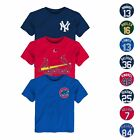 MLB Majestic Faux Stitch Name & Number T-Shirt Collection Toddler SZ (2T-4T) on Ebay
