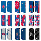 OFFICIAL NBA DETROIT PISTONS LEATHER BOOK WALLET CASE FOR MICROSOFT NOKIA PHONES