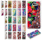 For Samsung Galaxy J3 Luna Pro Liquid Glitter Quicksand Hard Case Phone Cover