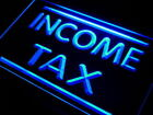 i430-b Income Tax Services Neon Light Sign