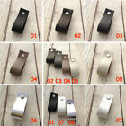 Minimalist Leather Handmade Cabinet Door Knobs Drawer Loop Pulls Door Handles