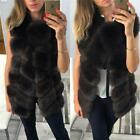 Genuine Real Whole Fox Whole Fur Vest Women Magic Series Gilet Long Jacket Coat