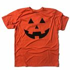 halloween pumpkin carving carved face t shirt funny adult costume ghost witch
