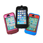 Rubber iPhone Protective Cover: 4G / 5G / 5GS (Apple Case Shell Mobile Silicone)
