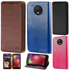 For Motorola Moto E4 Premium Wallet Case Pouch Flap STAND Phone Cover Accessory