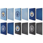 MANCHESTER CITY MAN CITY FC BADGE GEOMETRIC LEATHER BOOK CASE FOR APPLE iPAD