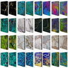 OFFICIAL HAROULITA MARBLE LEATHER BOOK WALLET CASE COVER FOR APPLE iPAD