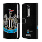 NEWCASTLE UNITED FC 2017/18 CREST PATTERNS LEATHER BOOK CASE MOTOROLA PHONE 2