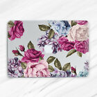Peony Floral Roses Vintage Hard Case Cover For Macbook Air 11 13 Pro 13 15 2018