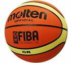 MOLTEN BASKETBALL STREET GAMES FIBA APPROVED TRAINING BALLS ORANGE/BEIGE SZ 5-7