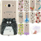 New Slim Clear Soft Silicone TPU Rubber Gel Back Case Cover For Samsung Phones