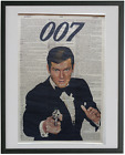 James Bond Print No.444, roger moore, 007, james bond poster, sean connery $14.75 CAD