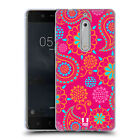 HEAD CASE DESIGNS PSYCHEDELIC PAISLEY SOFT GEL CASE FOR NOKIA 5