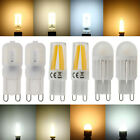 Dimmable G9 LED Corn Bulb Light 4W 6W 9W Silicone Crystal Halogen Lamp 110V 220V