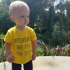 saturdays are for the toys t shirt funny cute kids tee top boys girls toddler