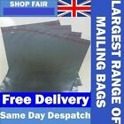 Grey Mailing Postage Poly Plastic Mailers Envelopes Bags *UK Made* *All Sizes*