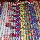 Wrapping Paper Roll Christmas 40 Sq Ft Princess Batman Spiderman Star Wars $9.99 USD on eBay