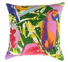 NEW JUNGLE BRIGHT TROPIC PARROT FABRIC CUSHION COVER THROW PILLOW BED SOFA DECOR