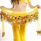 Belly Dance Skirt Scarf Wrap Belt Hipscarf Coin For Belly Dance Dancing Costumes