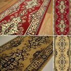 Runner Fatima new rugs small large thick modern high pile plain long hall narrow