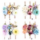 3pcs Cute Baby Girl Toddler Flower Hair Band Headwear Kids Headband Accessories
