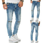 L.A.B 1928 Herren Jeans Hose Denim Slim Fit Chino Destroyed Clubwear Vintage