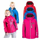 DLX Castor Girls & Boys Ski Jacket with Hood Waterproof with Rescue System