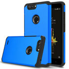 For ZTE Blade Z Max/Blade ZMax Pro 2 Case Armor Skin Hybrid Rubber Phone Cover