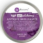 Finnabair Art Alchemy Prima ANTIQUE BRILLIANCE WAX .68 oz - CHOOSE FROM 5 COLORS