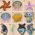 Embroidered Iron On Patches Cartoon Transfer Fabric Bag Clothes Applique Trim-A