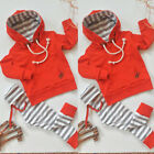 Baby - US Newborn Kids Baby Boy Girl Outfits Clothes Romper Jumpsuit Bodysuit+Pants Set