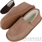 SNUGRUGS Ladies / Womens Wool Lined / Sheepskin Slippers / Indoor Shoes