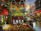 Venice Ltaly Scenery Oil painting Modern Home Art Wall Decor Printed On Canvas
