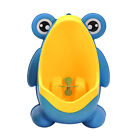 Portable Potty Urinal Standing Toilet Frog Shape Wall-Mounted For Kids Baby Boy