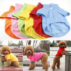 Lovely Pet Puppy Summer Shirt Small Dog Cat Pet Clothes Costume Apparel T-Shirt