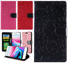 For Apple iPhone 8 & 8 PLUS ROSE Leather Wallet Case Pouch Flip Phone Cover